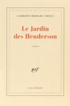 """Couverture du livre : """"Le jardin des Henderson"""""""