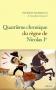 """Couverture du livre : """"Quatrième chronique du règne de Nicolas Ier"""""""