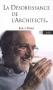 """Couverture du livre : """"La désobéissance de l'architecte"""""""
