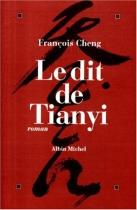 """Couverture du livre : """"Le dit de Tianyi"""""""