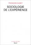 """Couverture du livre : """"Sociologie de l'expérience"""""""