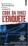 """Couverture du livre : """"Code Da Vinci, l'enquête"""""""