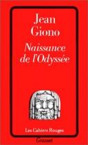 """Couverture du livre : """"Naissance de l'Odyssée"""""""