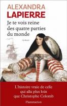 """Couverture du livre : """"Je te vois reine des quatre parties du monde"""""""