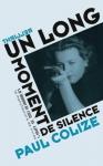"""Couverture du livre : """"Un long moment de silence"""""""