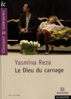 """Couverture du livre : """"Le dieu du carnage"""""""
