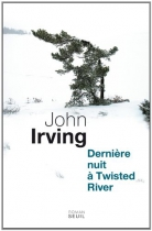 """Couverture du livre : """"Dernière nuit à Twisted River"""""""