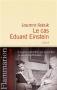 """Couverture du livre : """"Le cas Eduard Einstein"""""""