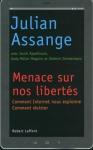 """Couverture du livre : """"Menace sur nos libertés"""""""