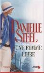 """Couverture du livre : """"Une femme libre"""""""