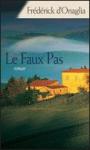 """Couverture du livre : """"Le faux pas"""""""
