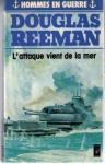 """Couverture du livre : """"L'attaque vient de la mer"""""""