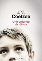 """Couverture du livre : """"Une enfance de Jésus"""""""