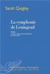 """Couverture du livre : """"La symphonie de Leningrad"""""""