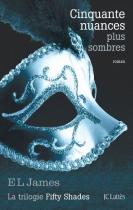 """Couverture du livre : """"Cinquante nuances plus sombres"""""""