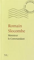 """Couverture du livre : """"Monsieur le Commandant"""""""