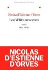 """Couverture du livre : """"Les fidélités successives"""""""