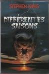 """Couverture du livre : """"Différentes saisons"""""""
