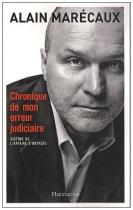 """Couverture du livre : """"Chronique de mon erreur judiciaire"""""""