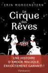 """Couverture du livre : """"Le cirque des rêves"""""""