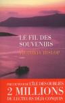 """Couverture du livre : """"Le fil des souvenirs"""""""