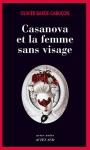 """Couverture du livre : """"Casanova et la femme sans visage"""""""