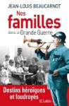 """Couverture du livre : """"Nos familles dans la Grande Guerre"""""""