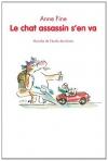 """Couverture du livre : """"Le chat assassin s'en va"""""""