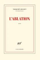 """Couverture du livre : """"L'ablation"""""""
