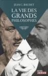 """Couverture du livre : """"La vie des grands philosophes"""""""