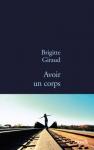 """Couverture du livre : """"Avoir un corps"""""""