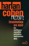 """Couverture du livre : """"Insomnies en noir"""""""