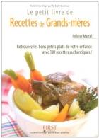 """Couverture du livre : """"Recettes de grands-mères"""""""
