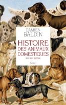 """Couverture du livre : """"Histoire des animaux domestiques"""""""
