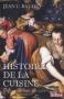 """Couverture du livre : """"Histoire de la cuisine"""""""