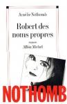 """Couverture du livre : """"Robert des noms propres"""""""