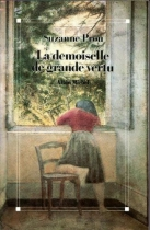 """Couverture du livre : """"La demoiselle de grande vertu"""""""
