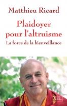 """Couverture du livre : """"Plaidoyer pour l'altruisme"""""""