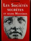 """Couverture du livre : """"Les sociétés secrètes et leurs mystères"""""""