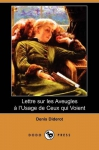 """Couverture du livre : """"Lettre sur les aveugles"""""""