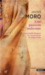 """Couverture du livre : """"Une passion indienne"""""""