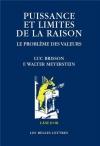 """Couverture du livre : """"Puissance et limites de la raison"""""""