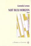 """Couverture du livre : """"Nuit bleu horizon"""""""