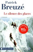 """Couverture du livre : """"Le silence des glaces"""""""