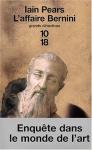 """Couverture du livre : """"L'affaire Bernini"""""""