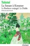 """Couverture du livre : """"La sonate à Kreutzer"""""""