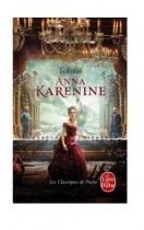 """Couverture du livre : """"Anna Karénine"""""""