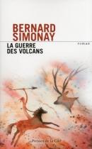"""Couverture du livre : """"La guerre des volcans"""""""