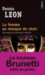 """Couverture du livre : """"La femme au masque de chair"""""""