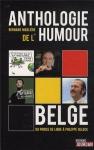 """Couverture du livre : """"Anthologie de l'humour belge"""""""